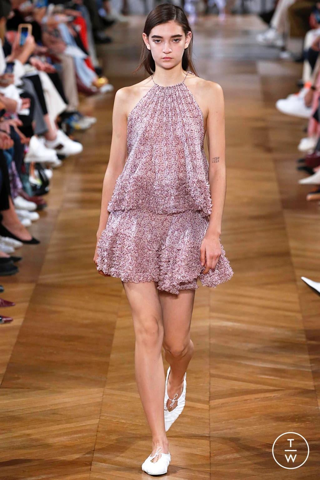 Fashion Week Paris Spring/Summer 2019 look 34 de la collection Stella McCartney womenswear