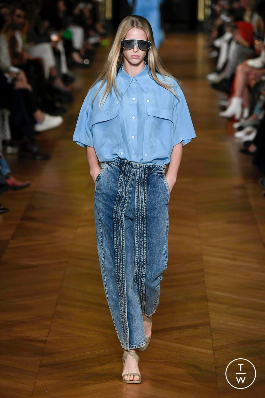 Fashion Week Paris Spring/Summer 2020 look 33 from the Stella McCartney collection womenswear