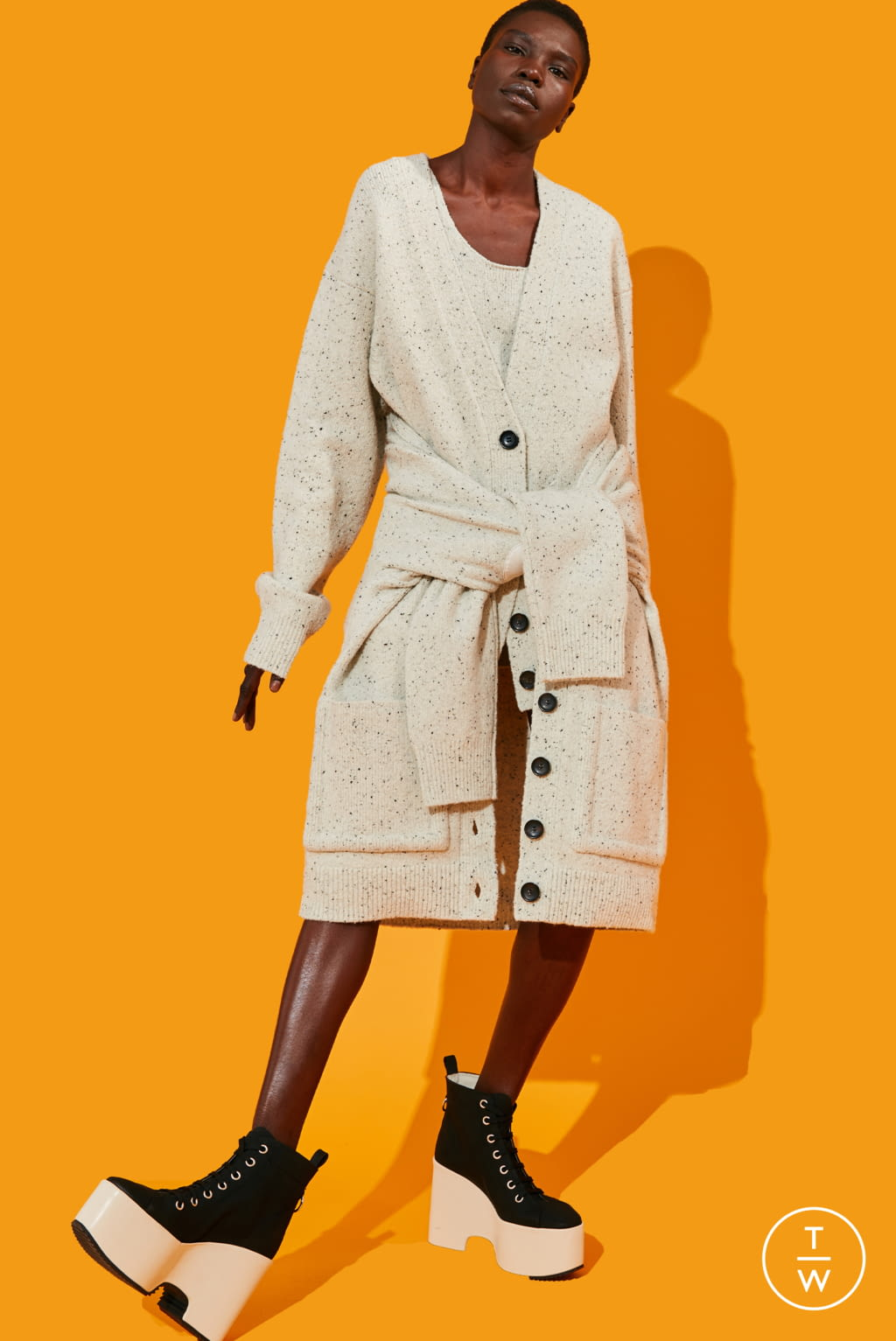 Fashion Week New York Pre-Fall 2020 look 12 from the Tibi collection 女装