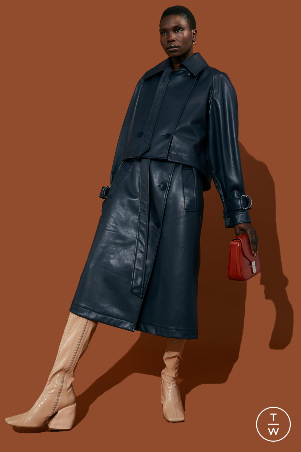 Fashion Week New York Pre-Fall 2020 look 13 from the Tibi collection womenswear