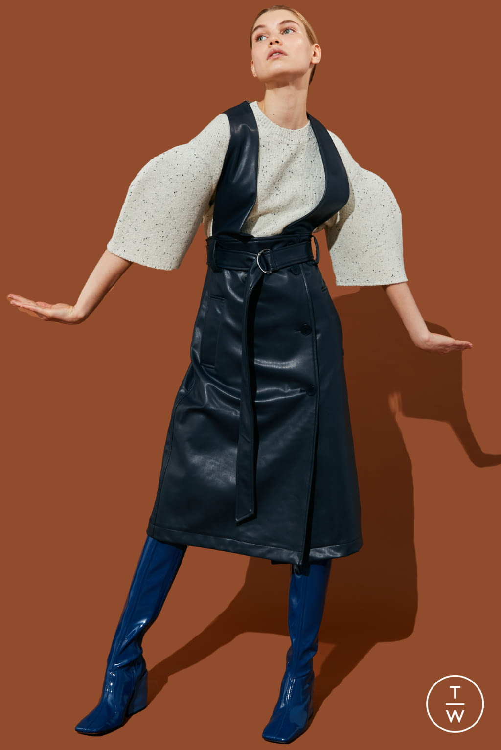 Fashion Week New York Pre-Fall 2020 look 14 from the Tibi collection 女装