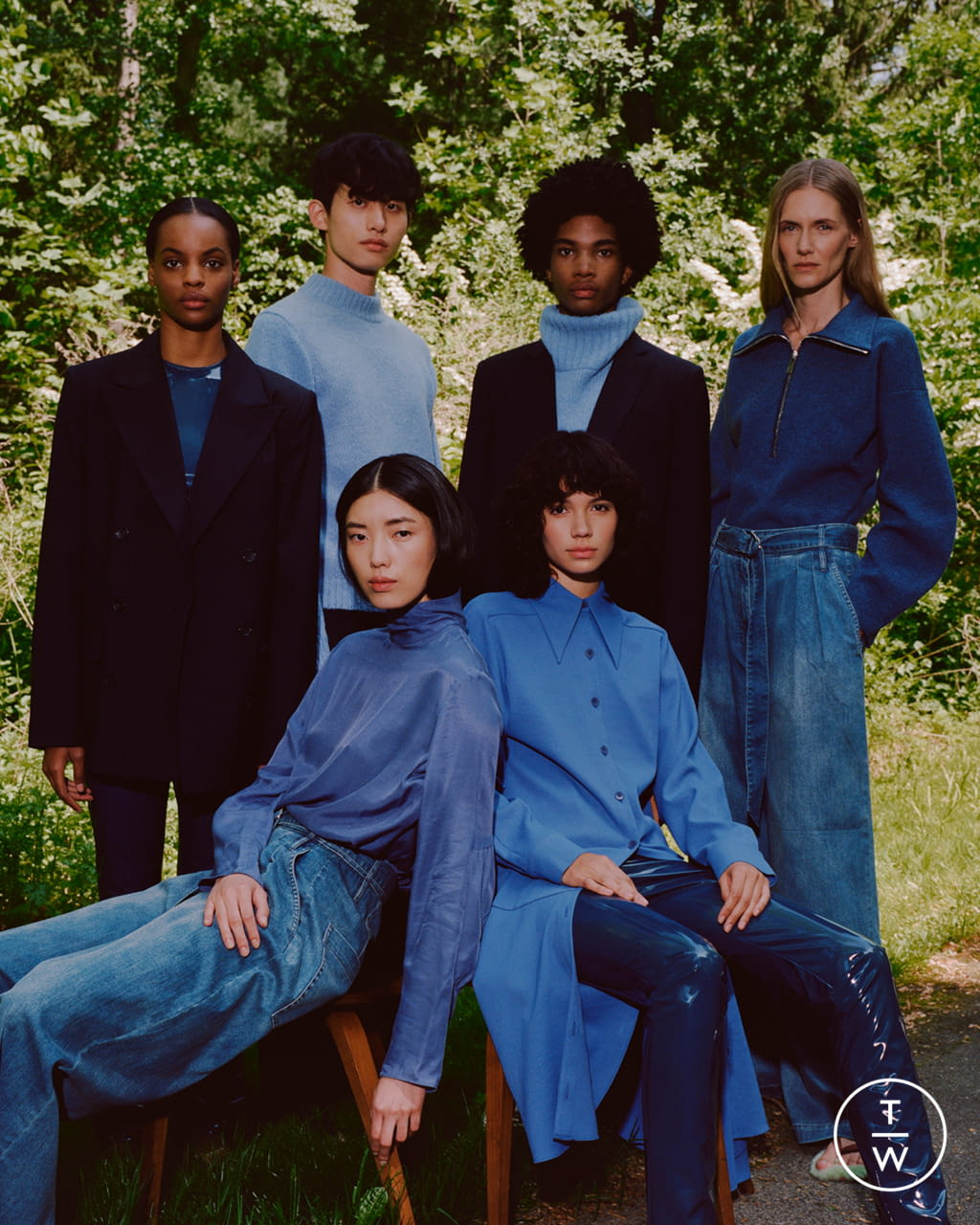 Fashion Week New York Resort 2020 look 4 from the Tibi collection 女装
