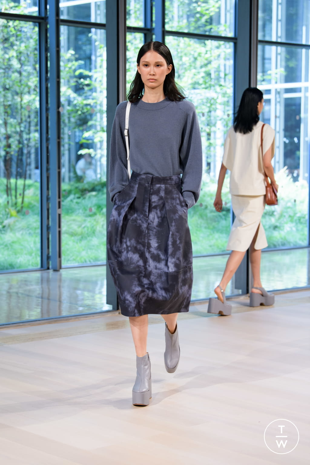 Fashion Week New York Spring/Summer 2020 look 12 from the Tibi collection 女装