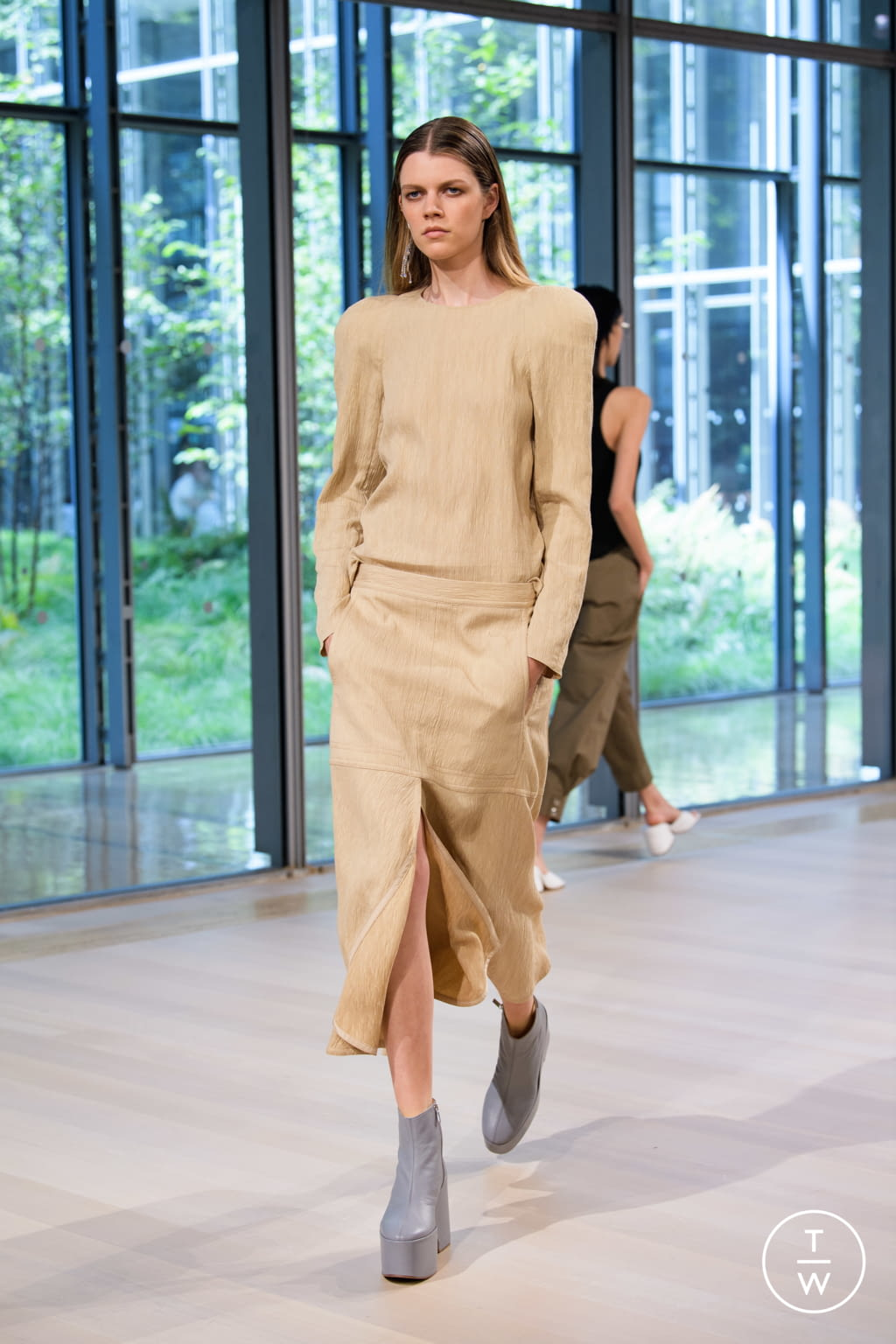 Fashion Week New York Spring/Summer 2020 look 13 from the Tibi collection womenswear