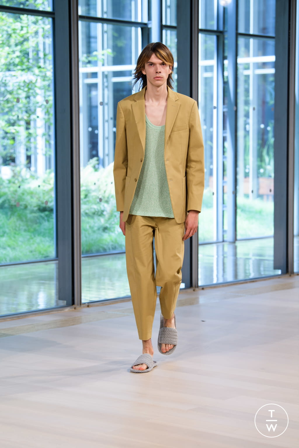 Fashion Week New York Spring/Summer 2020 look 14 from the Tibi collection womenswear