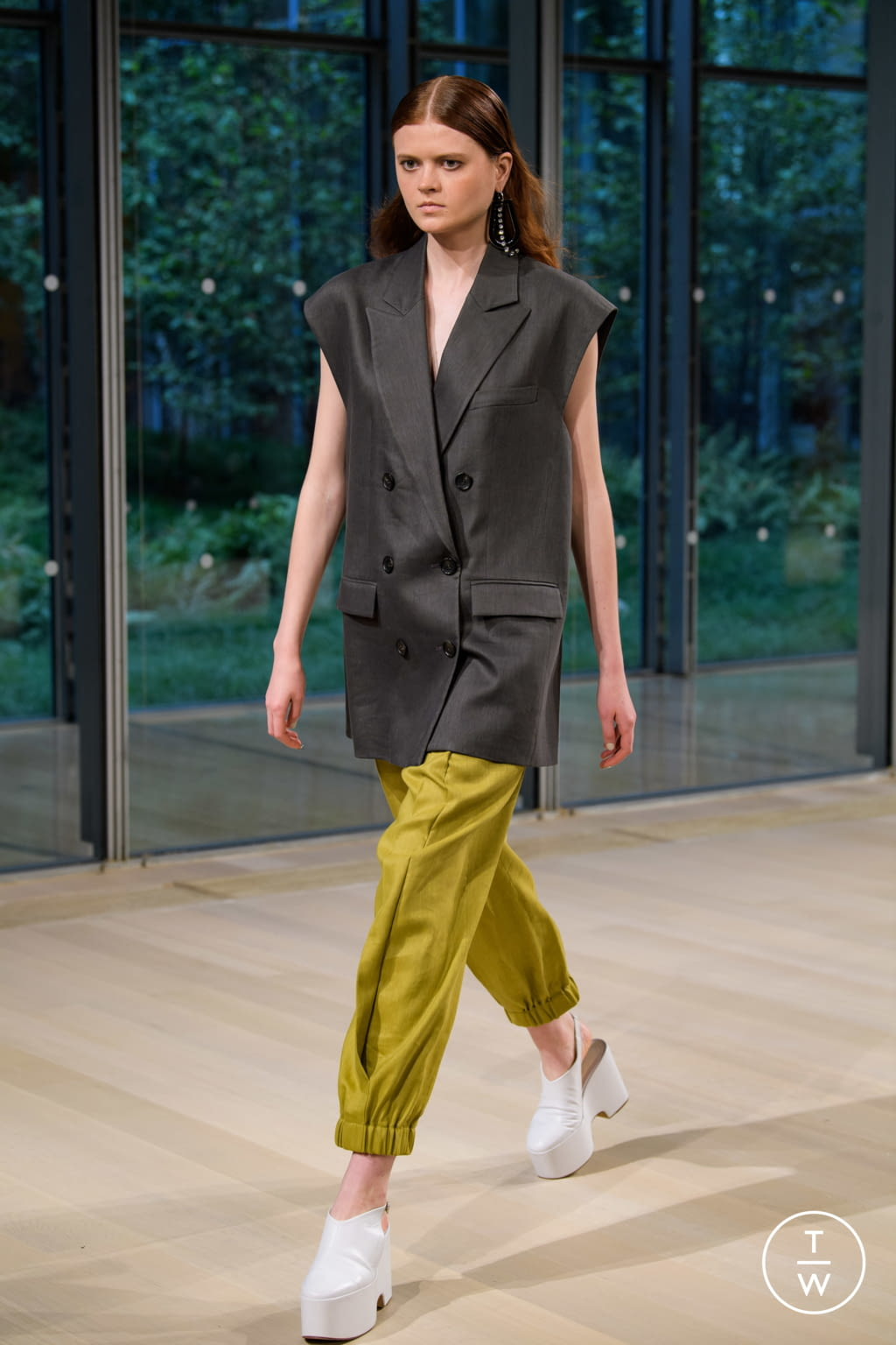 Fashion Week New York Spring/Summer 2020 look 2 from the Tibi collection womenswear