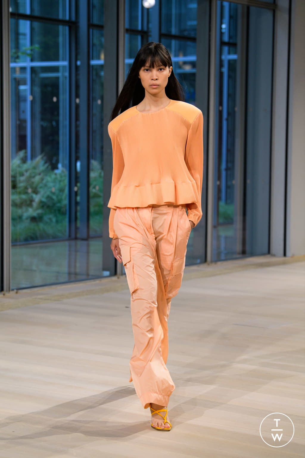 Fashion Week New York Spring/Summer 2020 look 28 from the Tibi collection womenswear