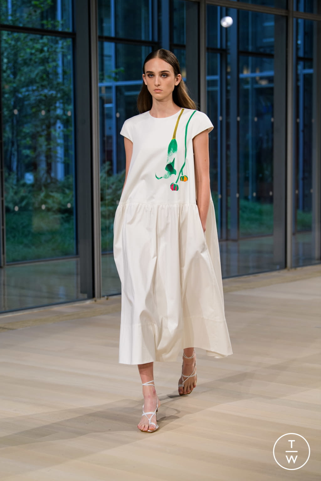 Fashion Week New York Spring/Summer 2020 look 36 from the Tibi collection womenswear