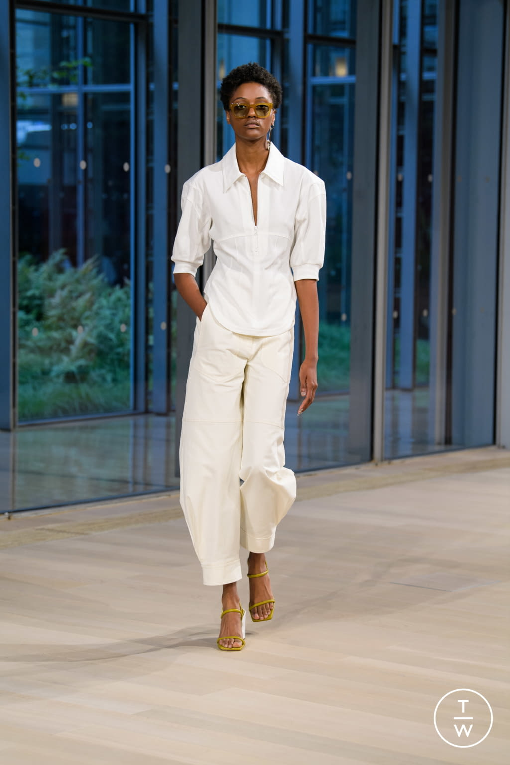 Fashion Week New York Spring/Summer 2020 look 5 from the Tibi collection womenswear