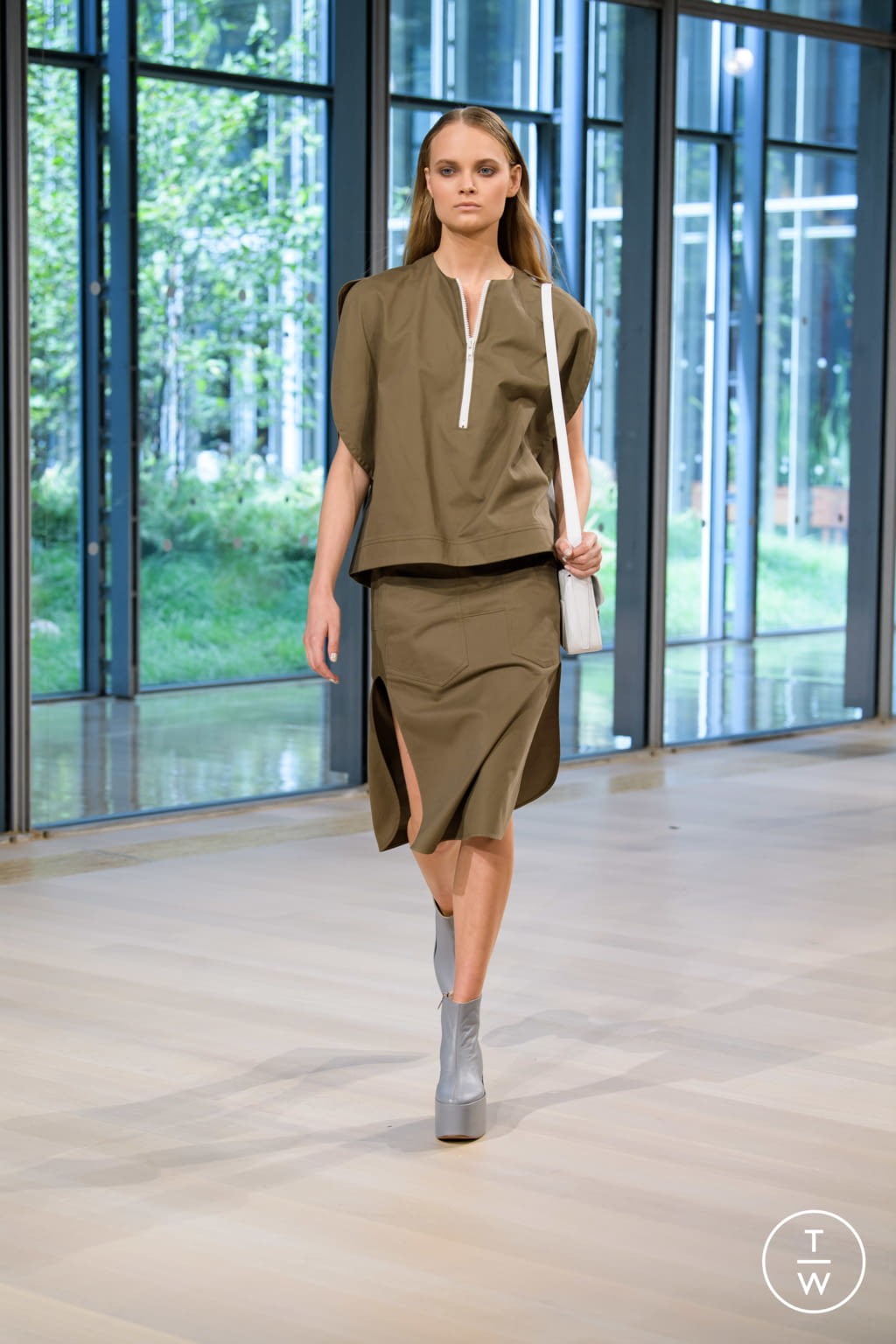 Fashion Week New York Spring/Summer 2020 look 9 from the Tibi collection 女装