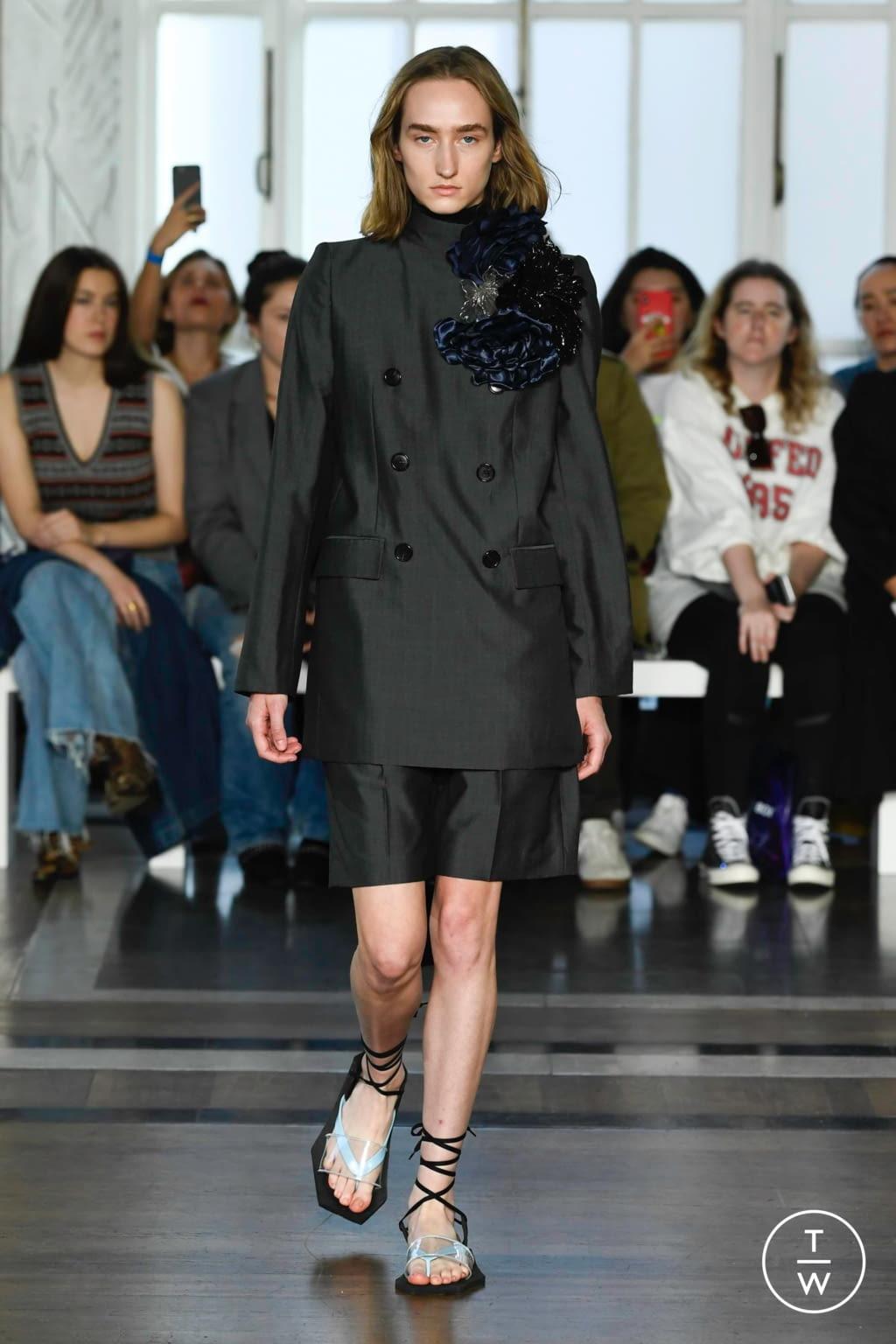 Fashion Week London Spring/Summer 2020 look 1 de la collection Toga womenswear