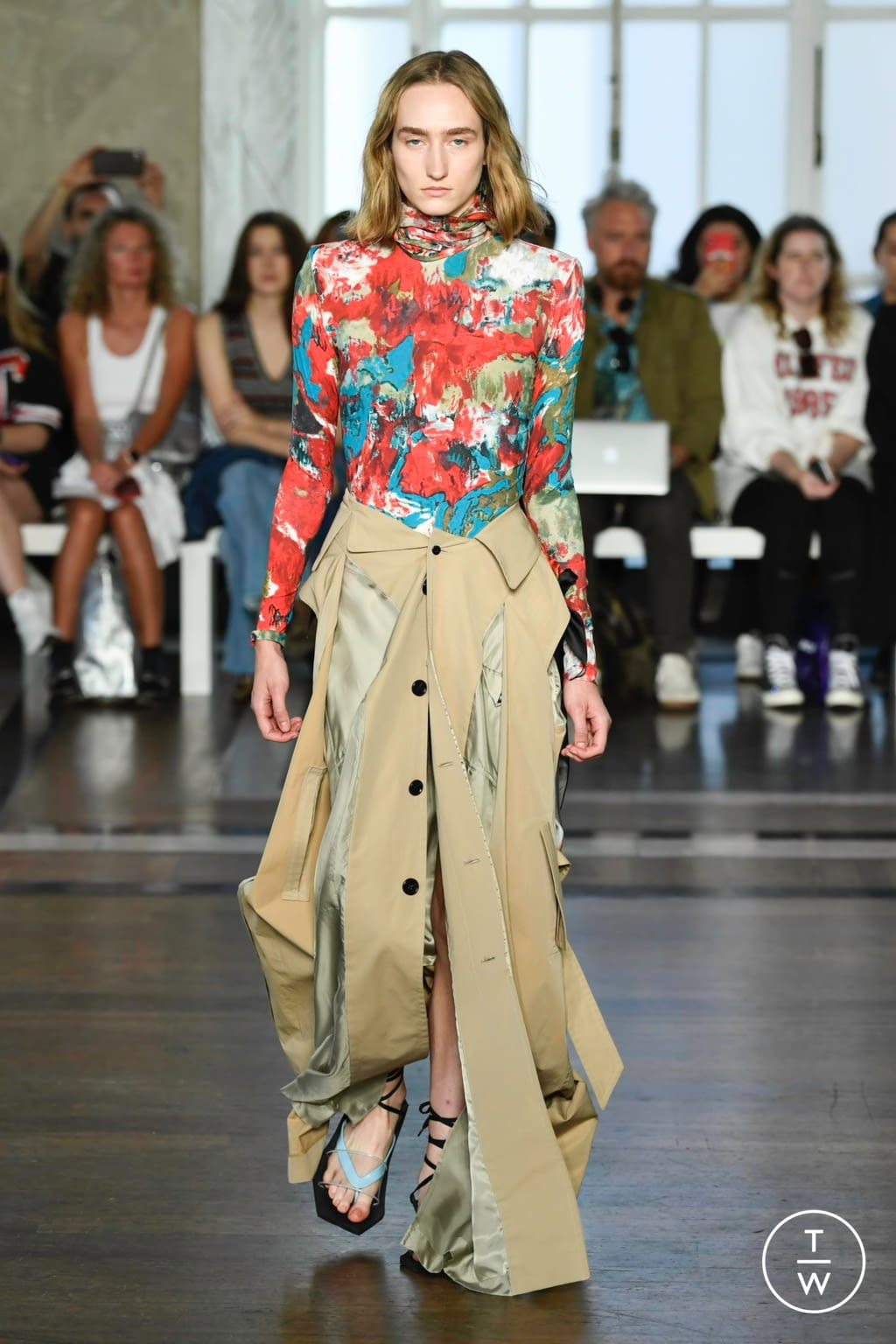 Fashion Week London Spring/Summer 2020 look 19 from the Toga collection womenswear
