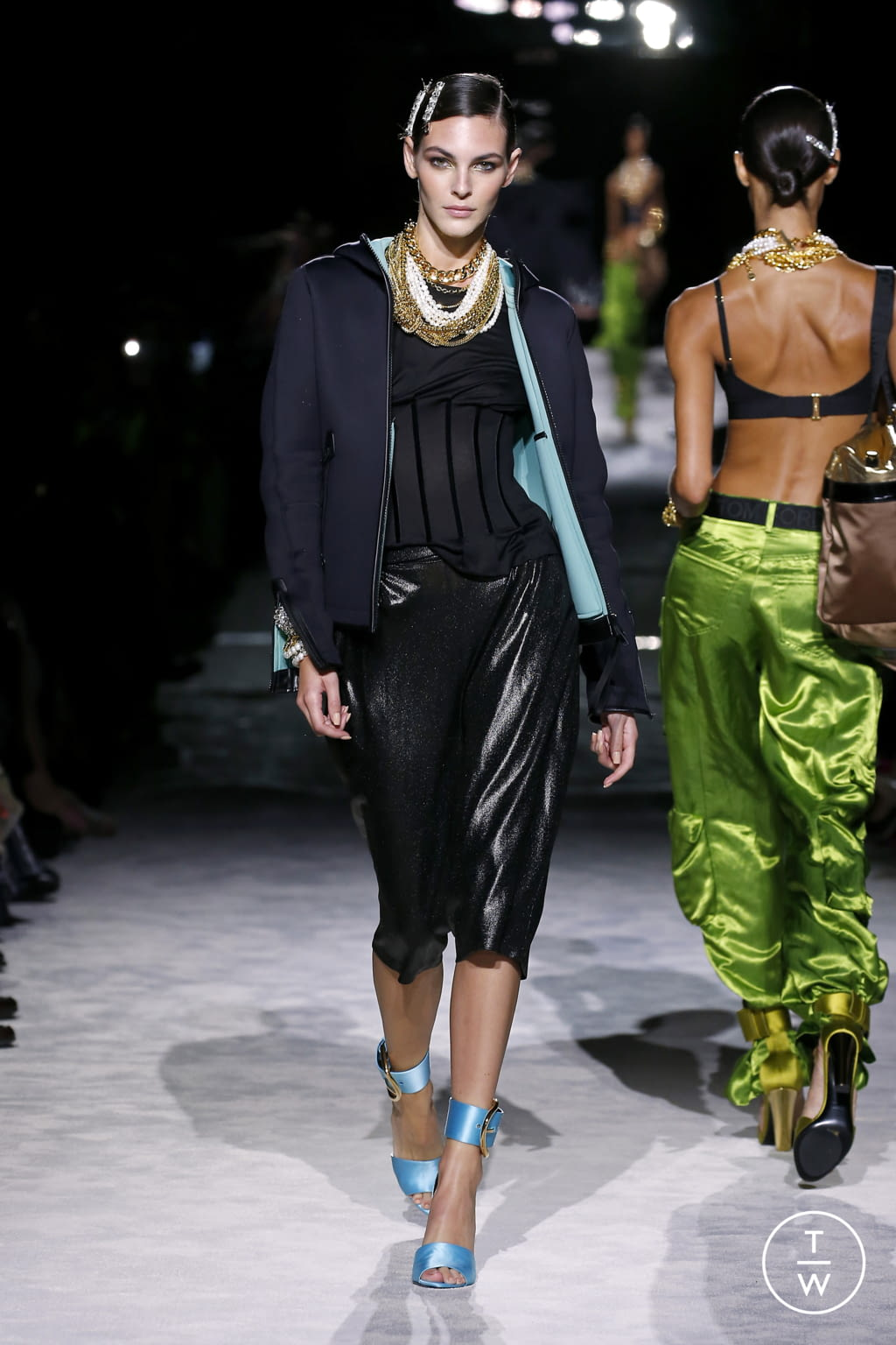 Fashion Week New York Spring/Summer 2022 look 11 from the Tom Ford collection womenswear