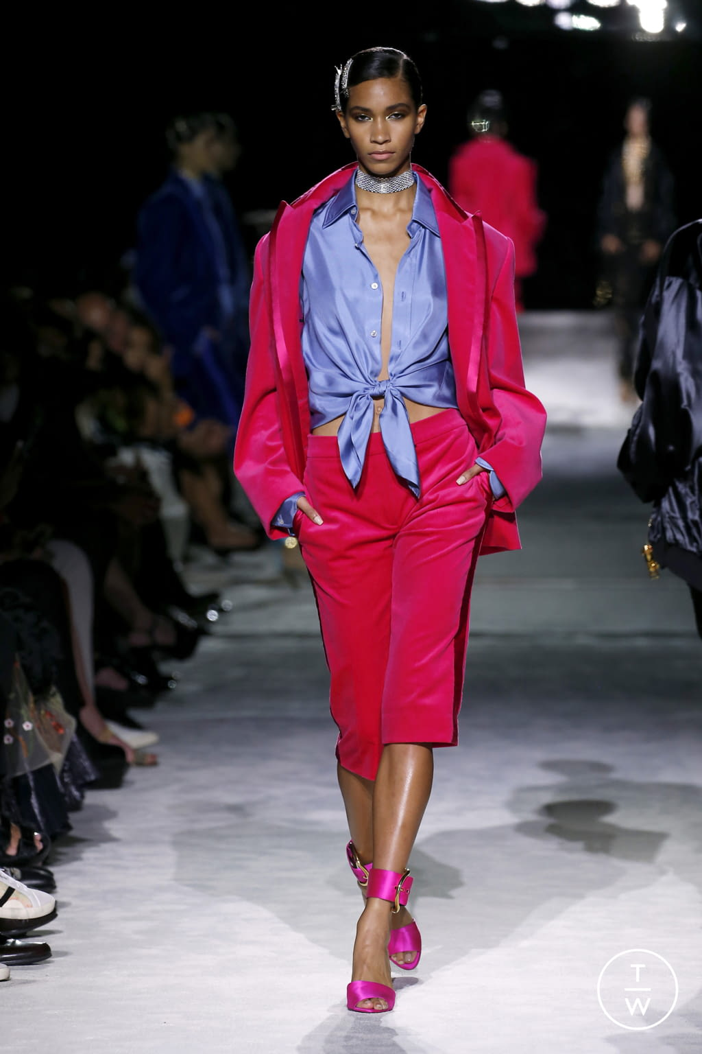Fashion Week New York Spring/Summer 2022 look 31 from the Tom Ford collection womenswear