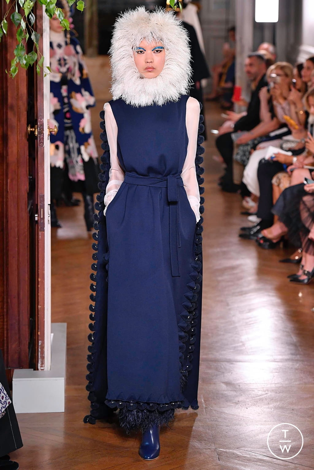 Fashion Week Paris Fall/Winter 2019 look 70 from the Valentino collection couture