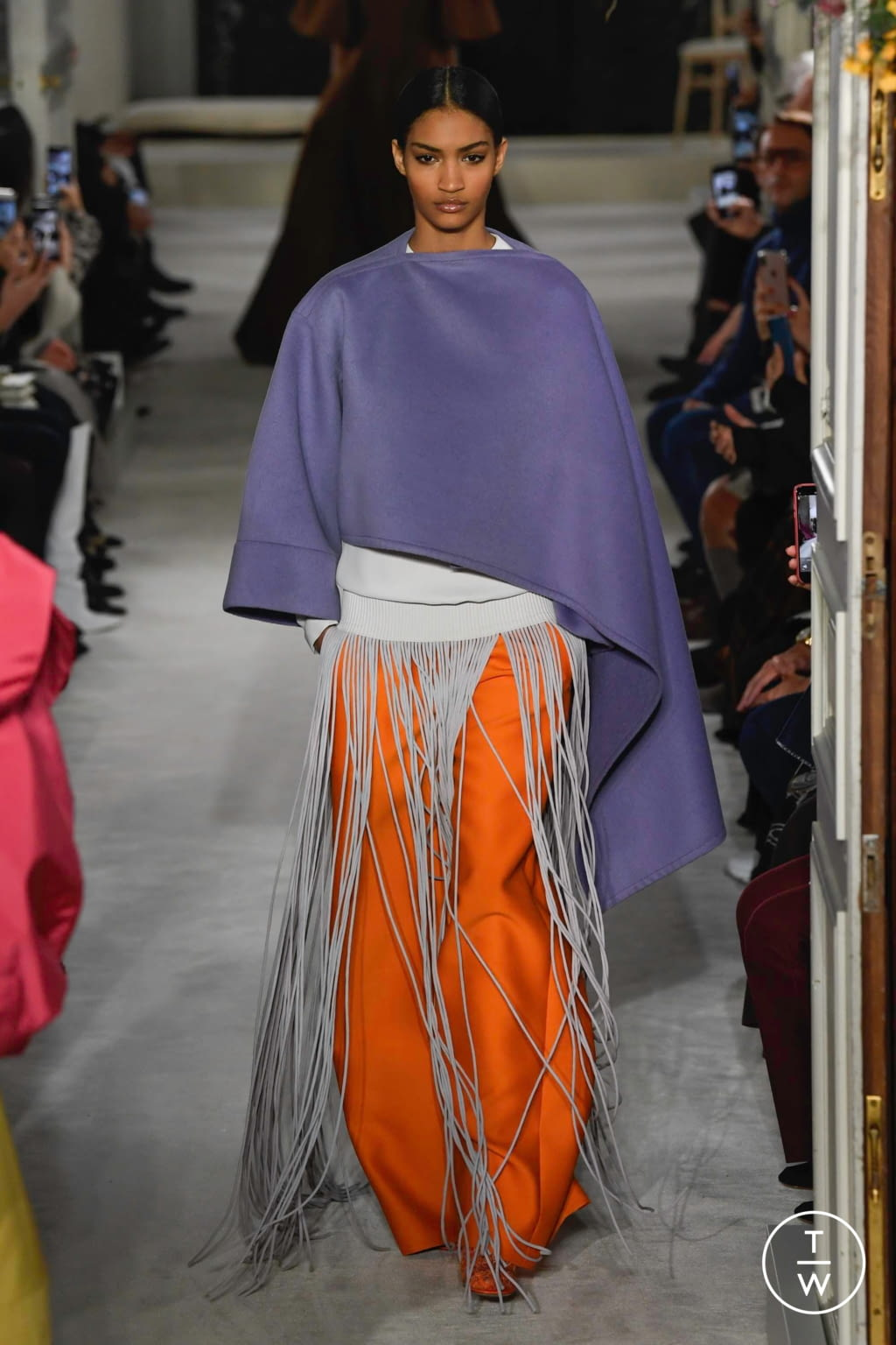 Fashion Week Paris Spring/Summer 2019 look 8 from the Valentino collection couture