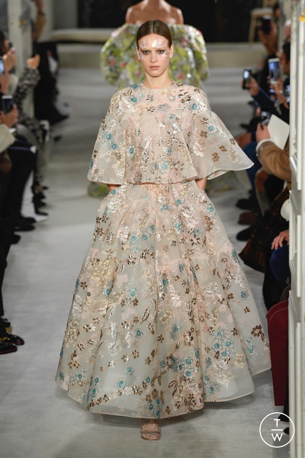 Fashion Week Paris Spring/Summer 2019 look 46 from the Valentino collection couture