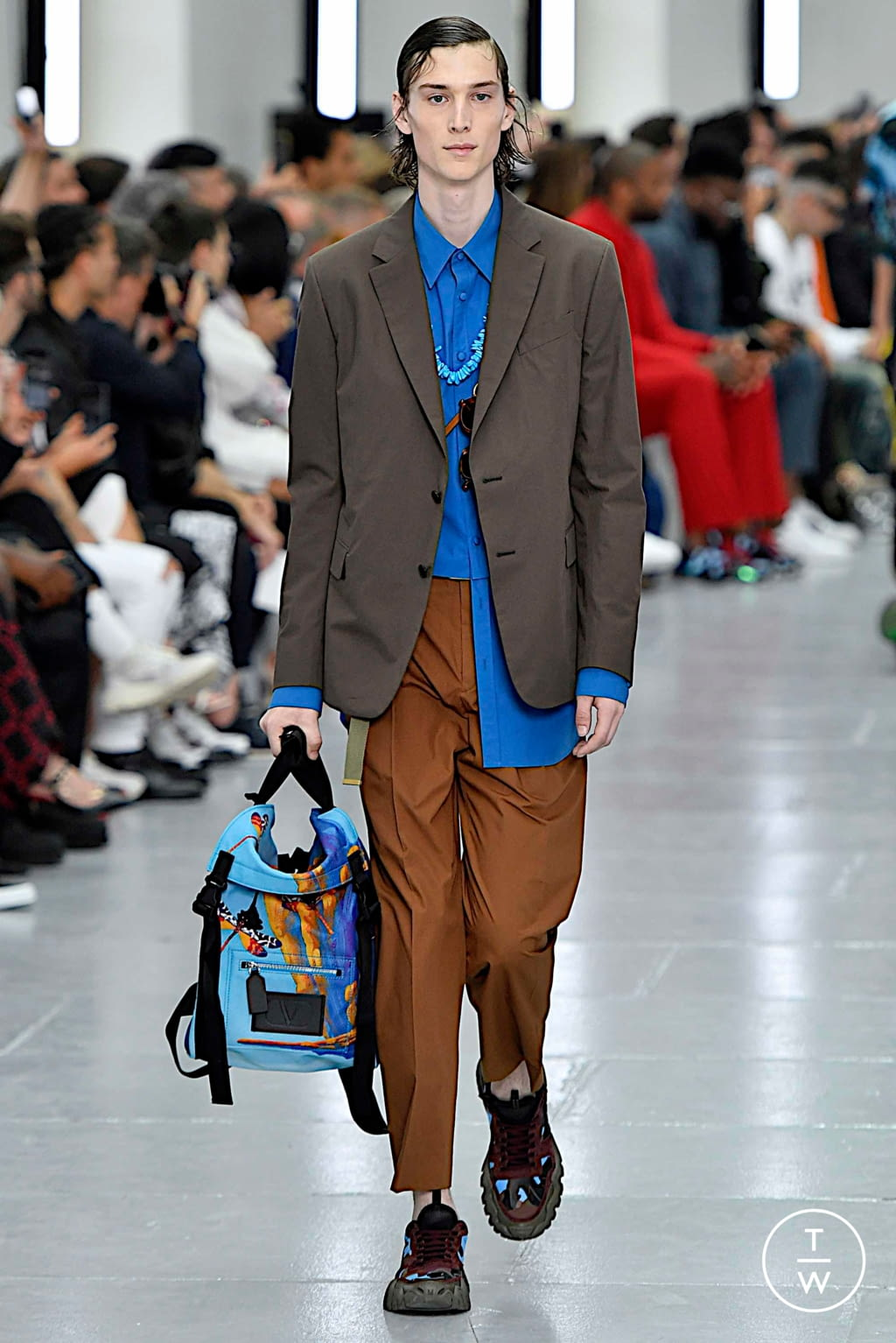 Fashion Week Paris Spring/Summer 2020 look 10 from the Valentino collection menswear