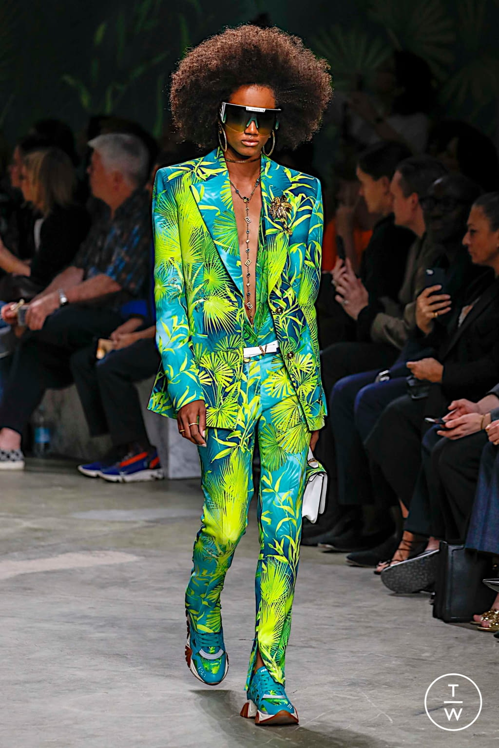 Fashion Week Milan Spring/Summer 2020 look 45 from the Versace collection womenswear