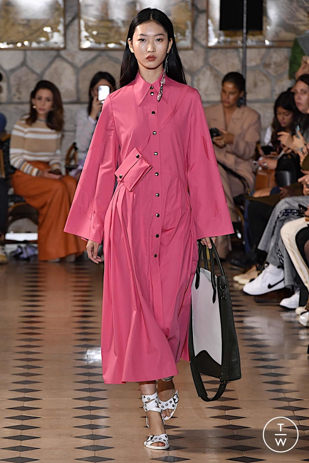 Fashion Week Paris Spring/Summer 2020 look 2 from the Victoria/tomas collection womenswear