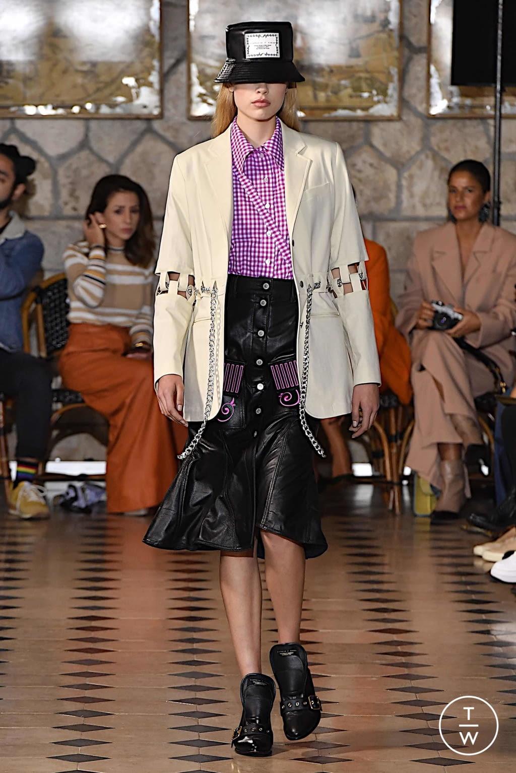 Fashion Week Paris Spring/Summer 2020 look 3 de la collection Victoria/tomas womenswear