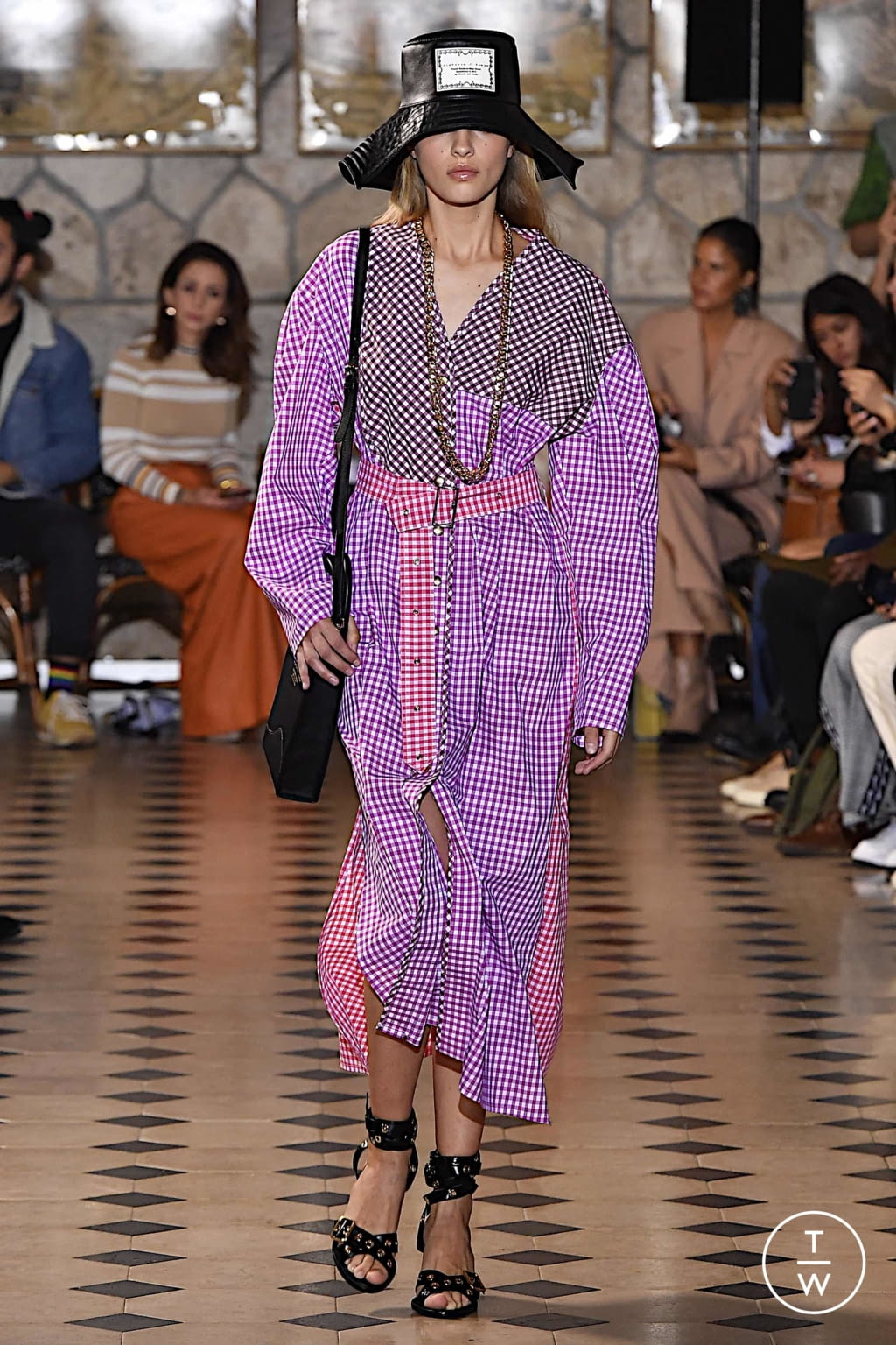 Fashion Week Paris Spring/Summer 2020 look 4 de la collection Victoria/tomas womenswear