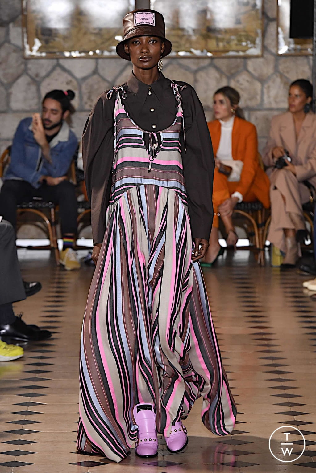 Fashion Week Paris Spring/Summer 2020 look 7 from the Victoria/tomas collection womenswear