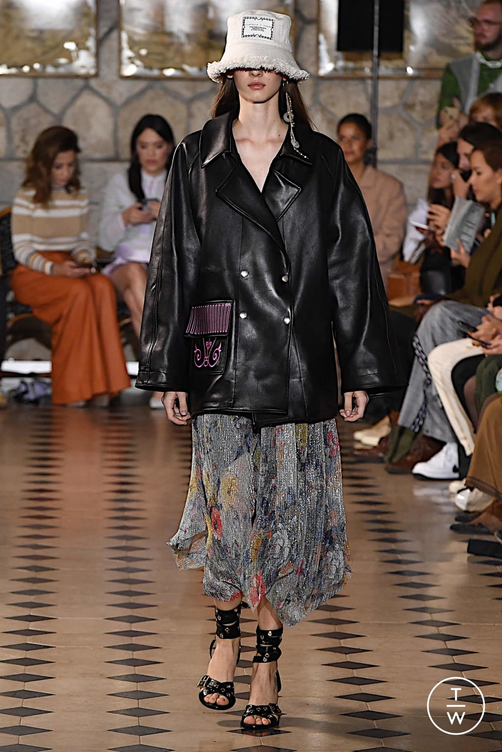 Fashion Week Paris Spring/Summer 2020 look 16 from the Victoria/tomas collection womenswear