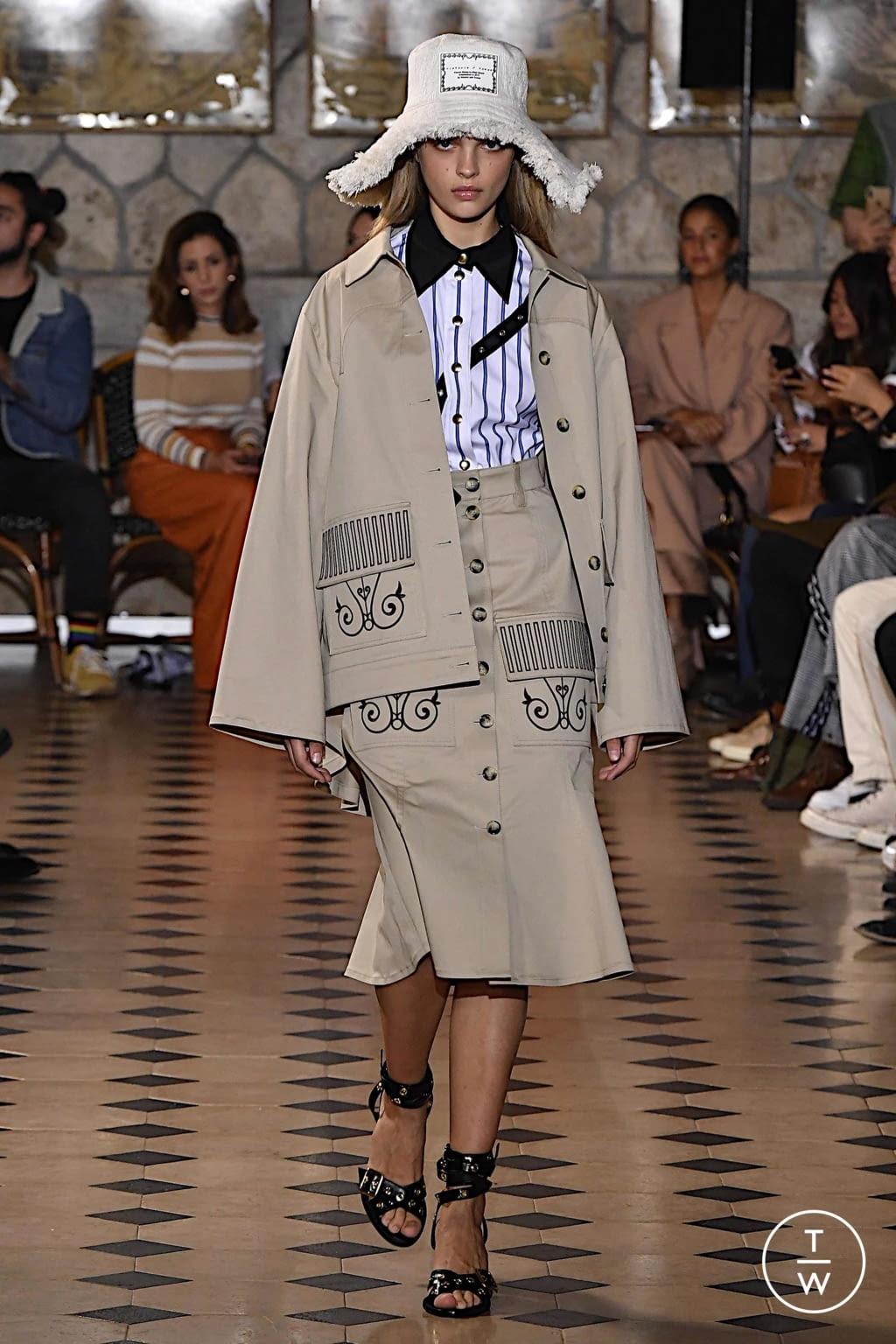 Fashion Week Paris Spring/Summer 2020 look 20 de la collection Victoria/tomas womenswear