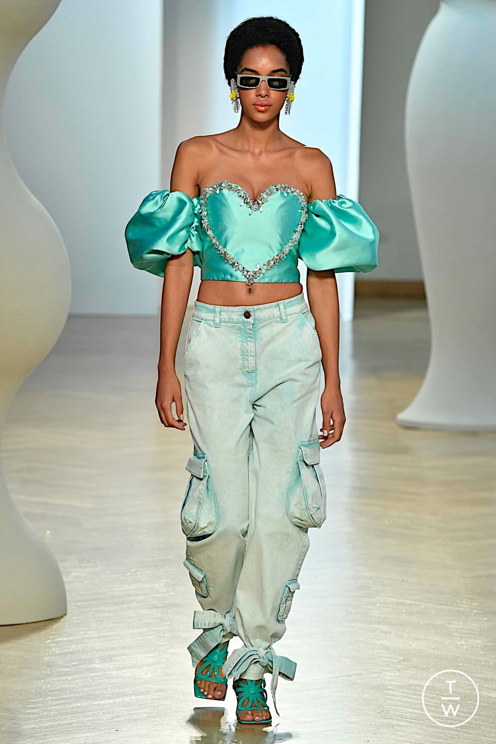 Fashion Week Milan Spring/Summer 2020 look 28 from the Vivetta collection 女装