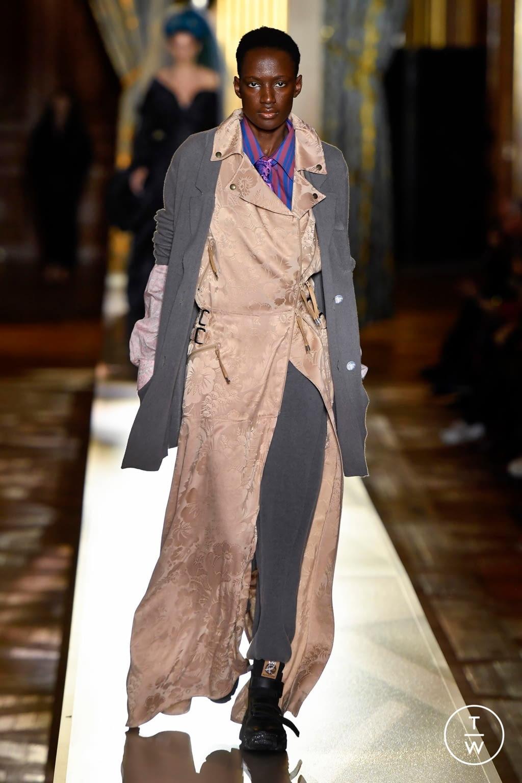 Fashion Week Paris Fall/Winter 2020 look 29 de la collection Andreas Kronthaler for Vivienne Westwood womenswear
