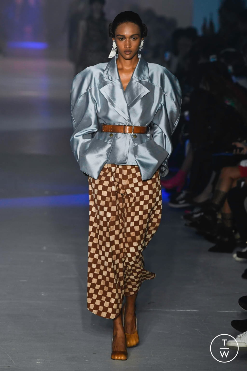 Fashion Week Paris Spring/Summer 2020 look 12 from the Andreas Kronthaler for Vivienne Westwood collection womenswear