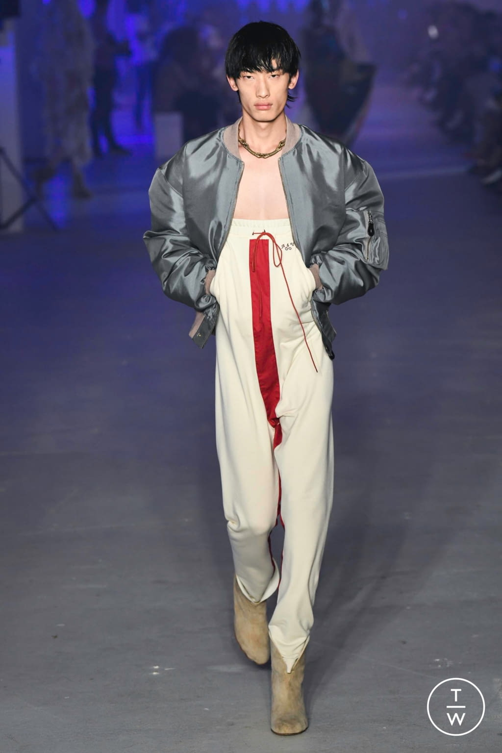 Fashion Week Paris Spring/Summer 2020 look 30 from the Andreas Kronthaler for Vivienne Westwood collection womenswear