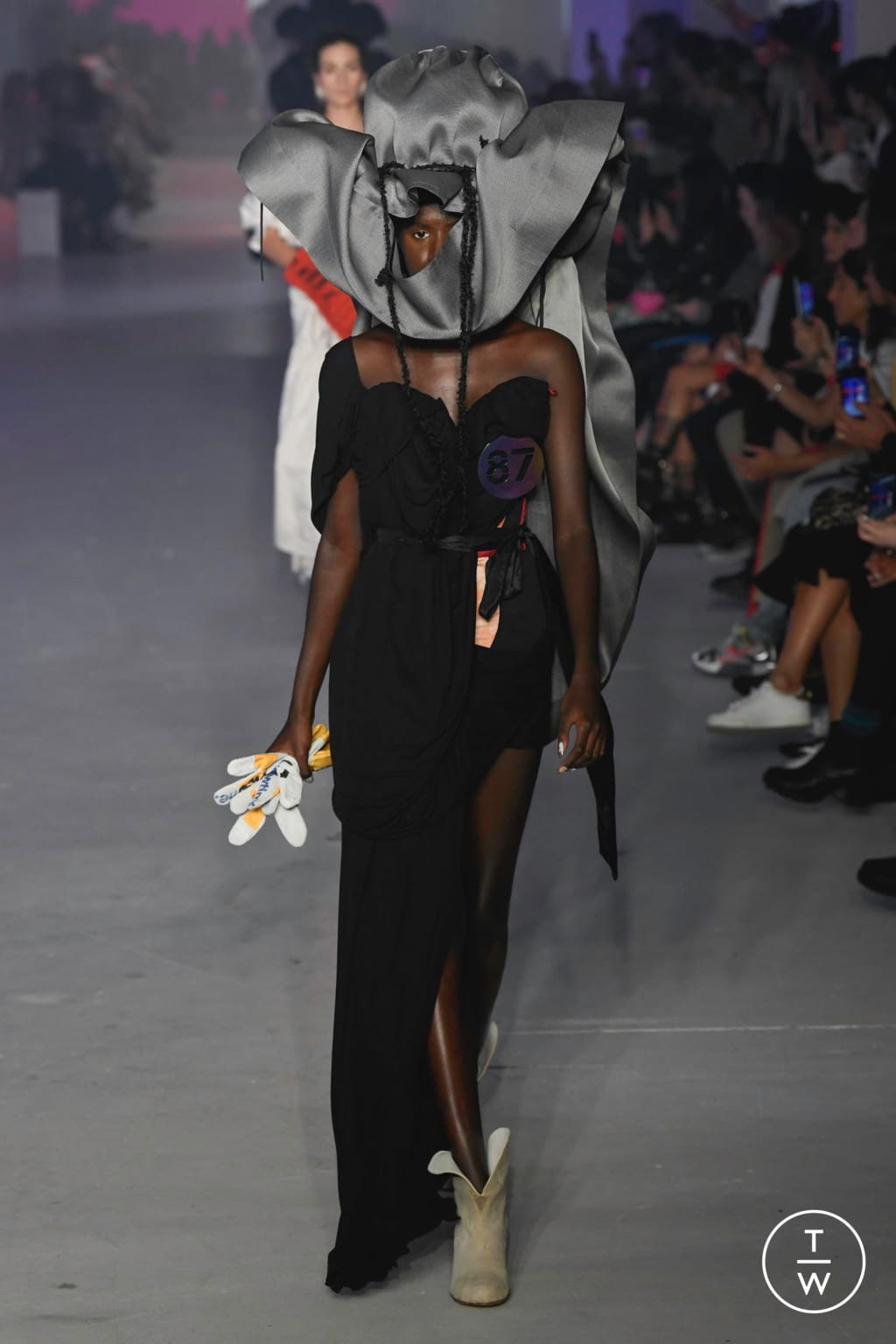 Fashion Week Paris Spring/Summer 2020 look 54 from the Andreas Kronthaler for Vivienne Westwood collection womenswear