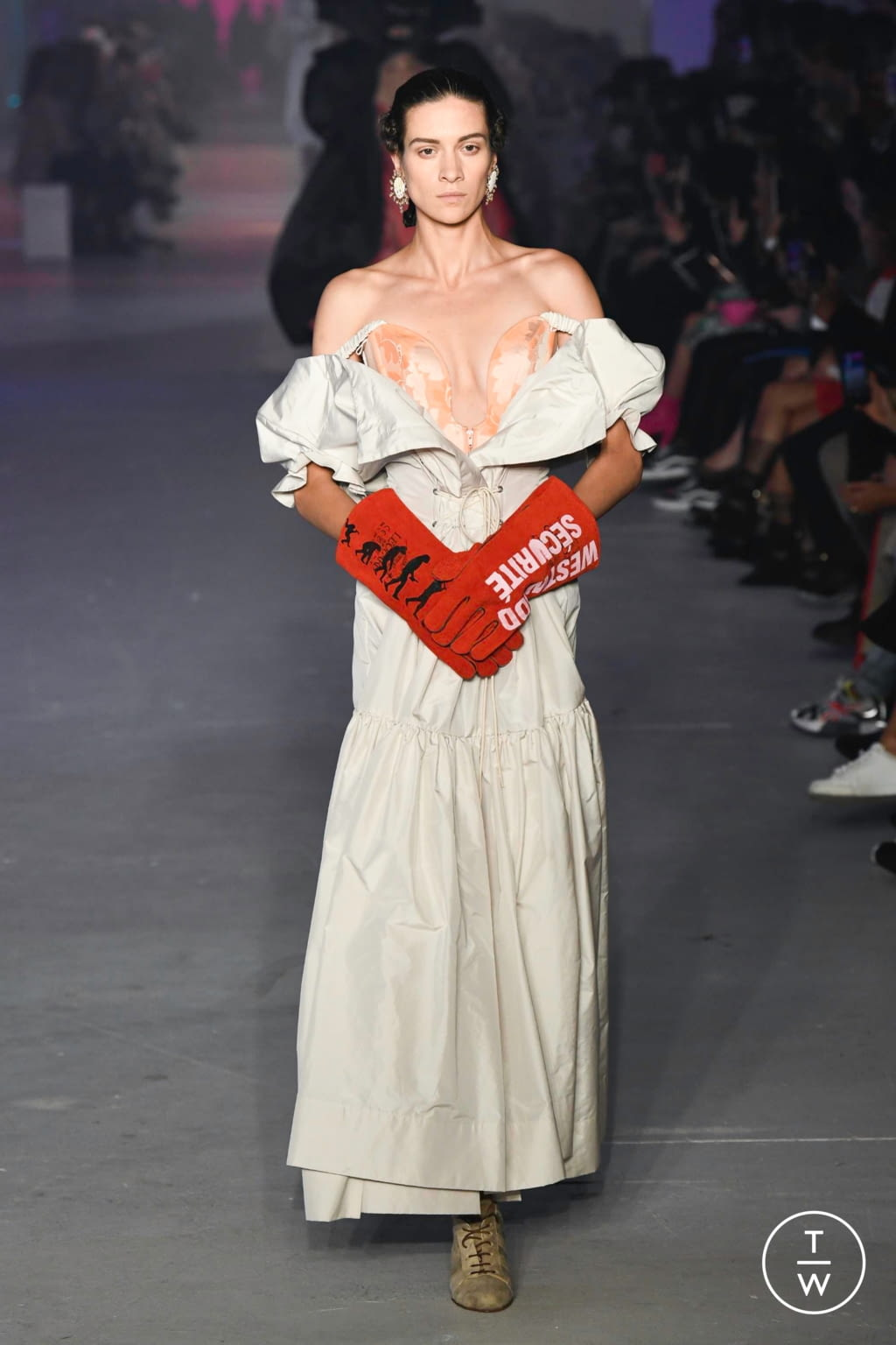 Fashion Week Paris Spring/Summer 2020 look 55 from the Andreas Kronthaler for Vivienne Westwood collection womenswear