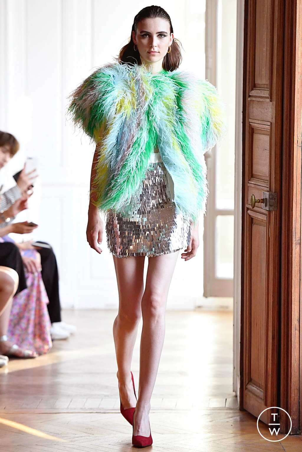 Fashion Week Paris Fall/Winter 2019 look 14 from the Xuan collection couture