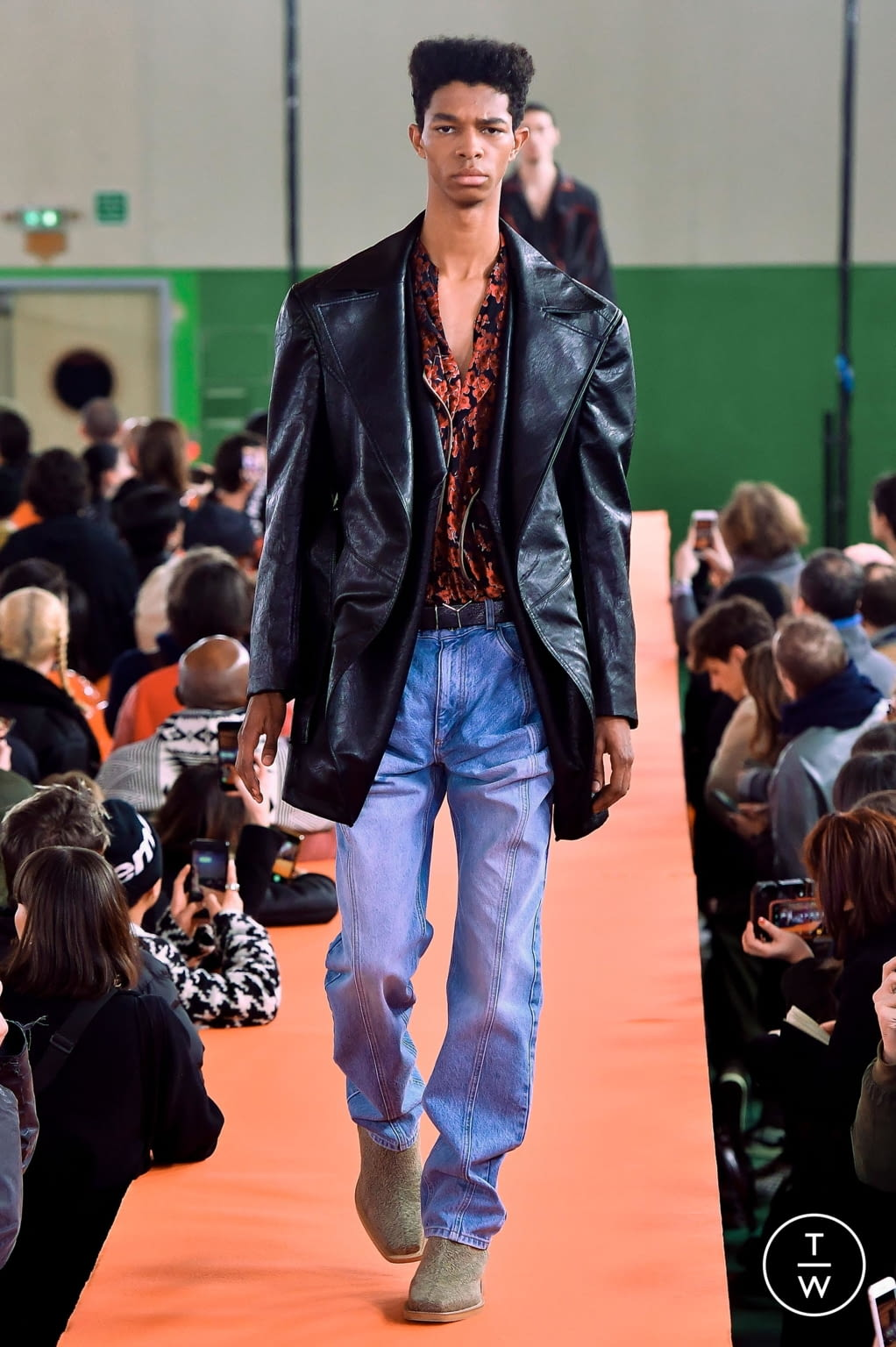 Fashion Week Paris Fall/Winter 2020 look 10 from the Y/PROJECT collection menswear