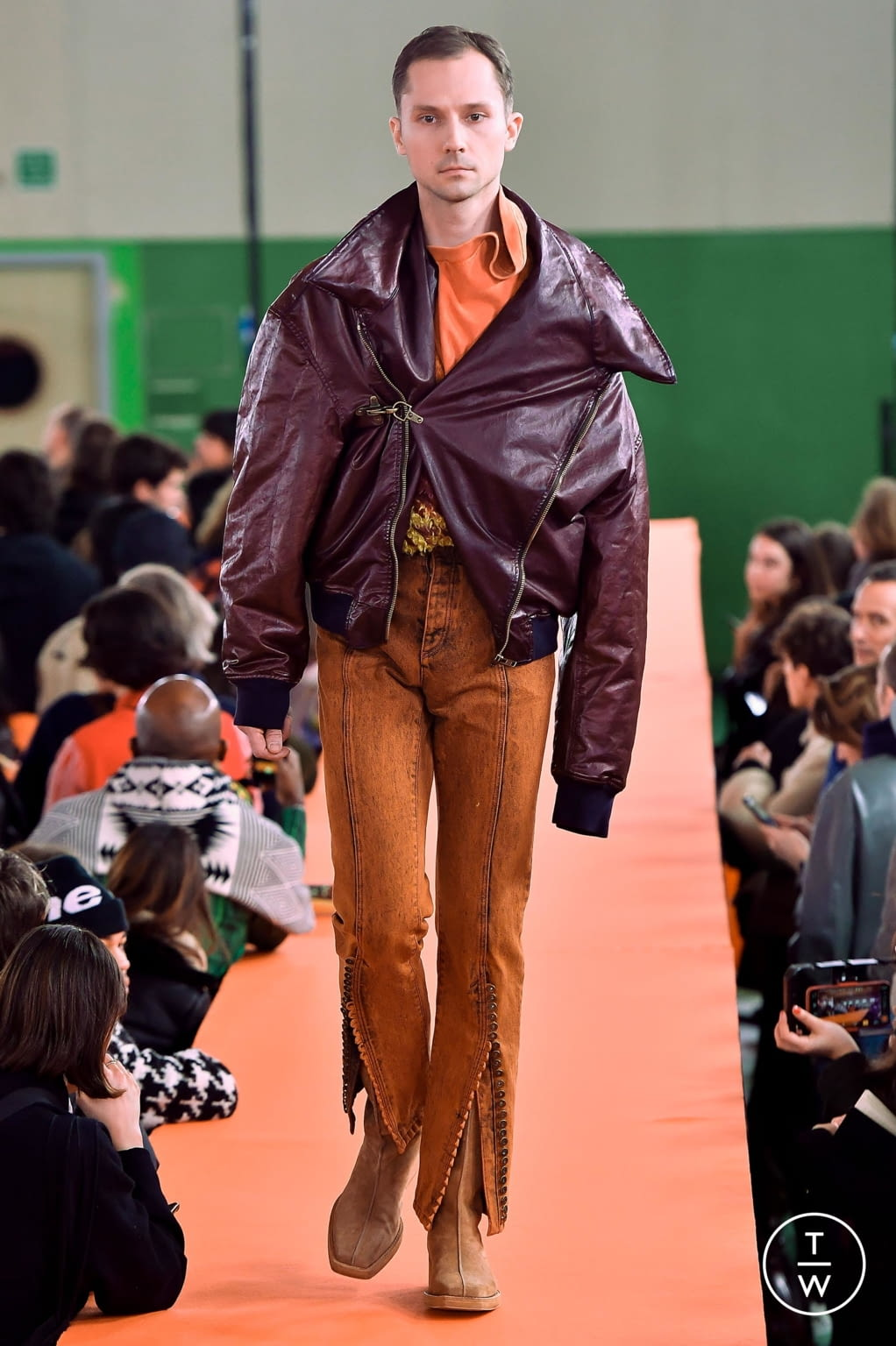 Fashion Week Paris Fall/Winter 2020 look 25 from the Y/PROJECT collection menswear
