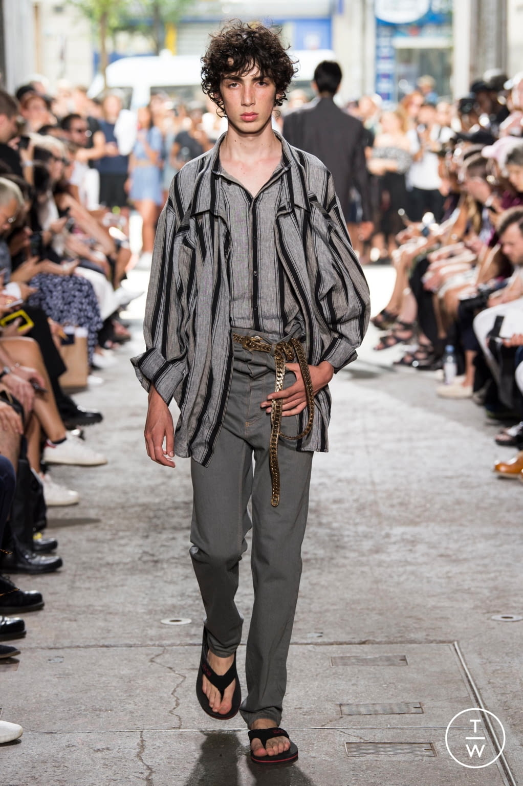 Fashion Week Paris Spring/Summer 2018 look 25 from the Y/PROJECT collection menswear