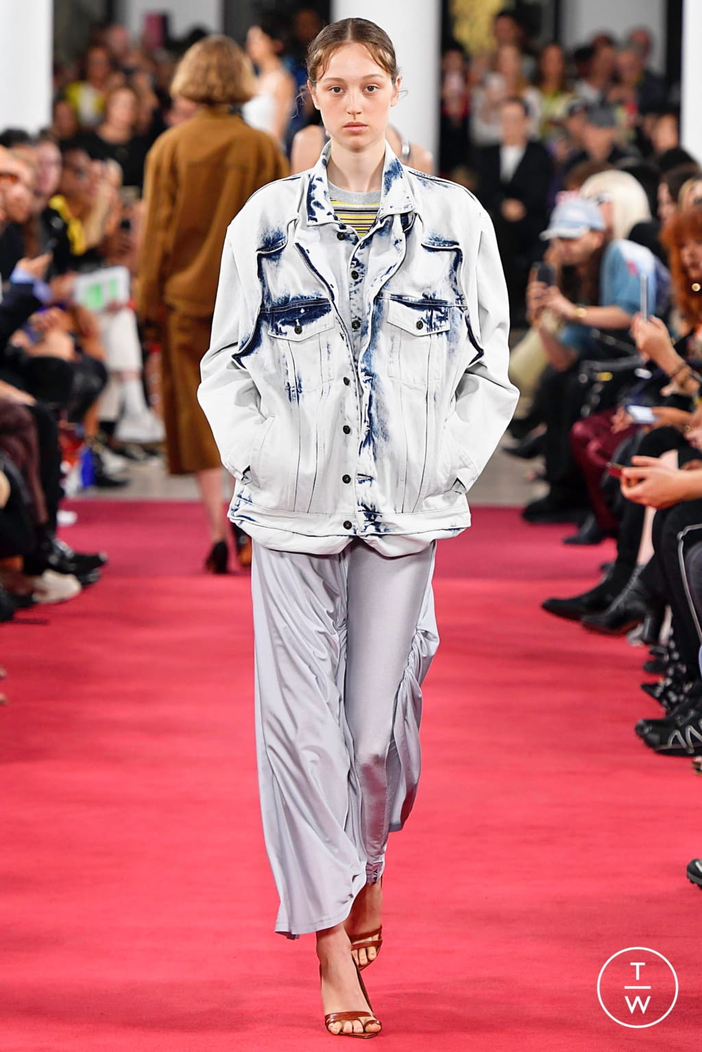 Fashion Week Paris Spring/Summer 2019 look 11 from the Y/PROJECT collection womenswear