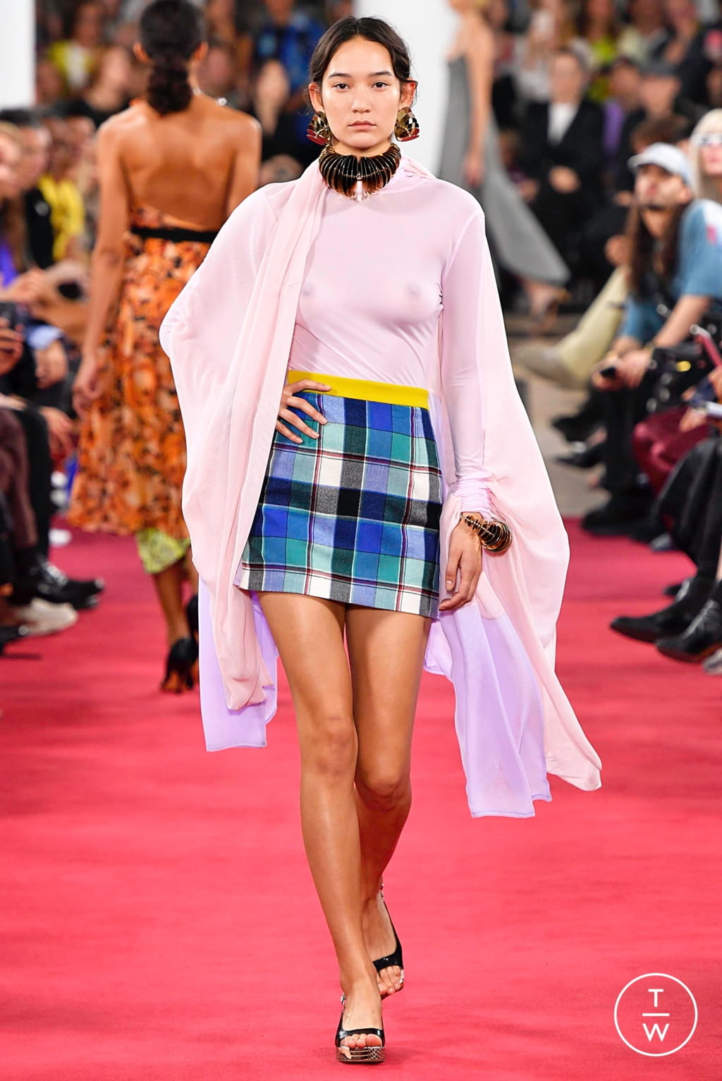 Fashion Week Paris Spring/Summer 2019 look 27 from the Y/PROJECT collection womenswear