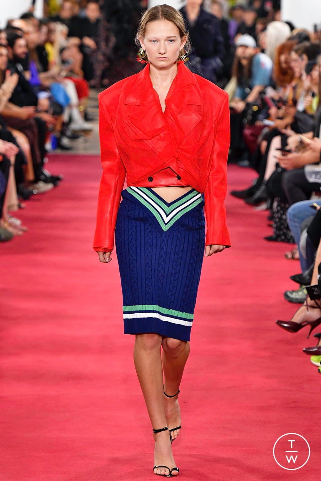 Fashion Week Paris Spring/Summer 2019 look 37 from the Y/PROJECT collection womenswear
