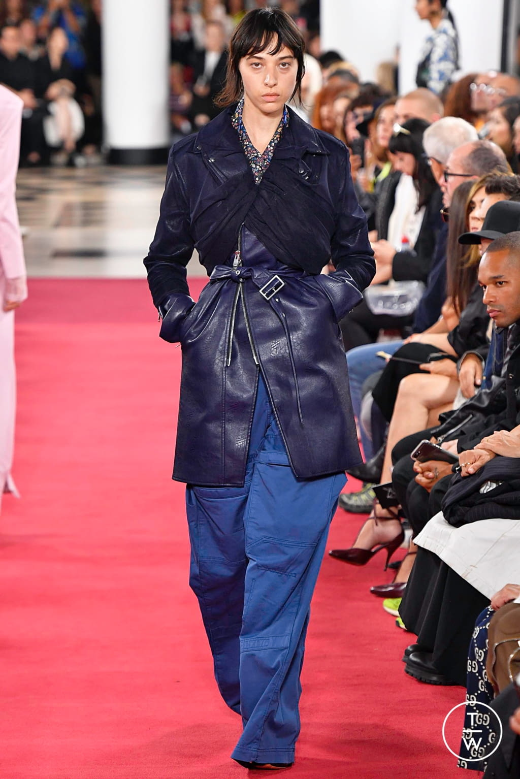 Fashion Week Paris Spring/Summer 2019 look 38 from the Y/PROJECT collection womenswear