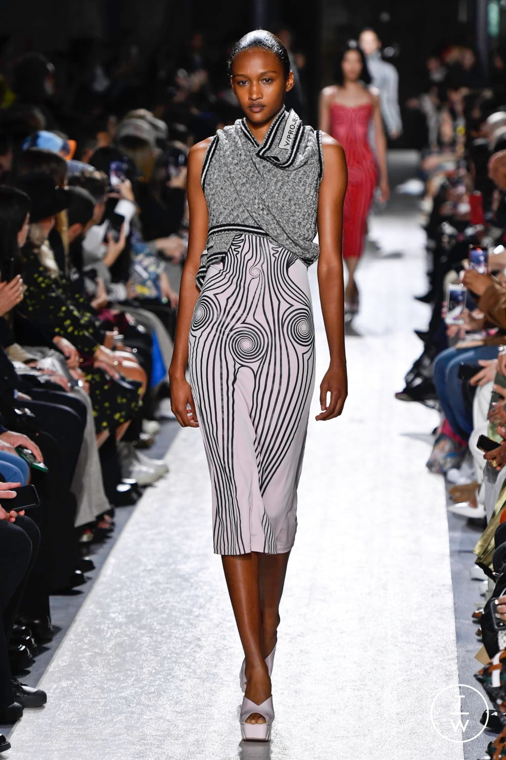 Fashion Week Paris Spring/Summer 2020 look 17 from the Y/PROJECT collection womenswear