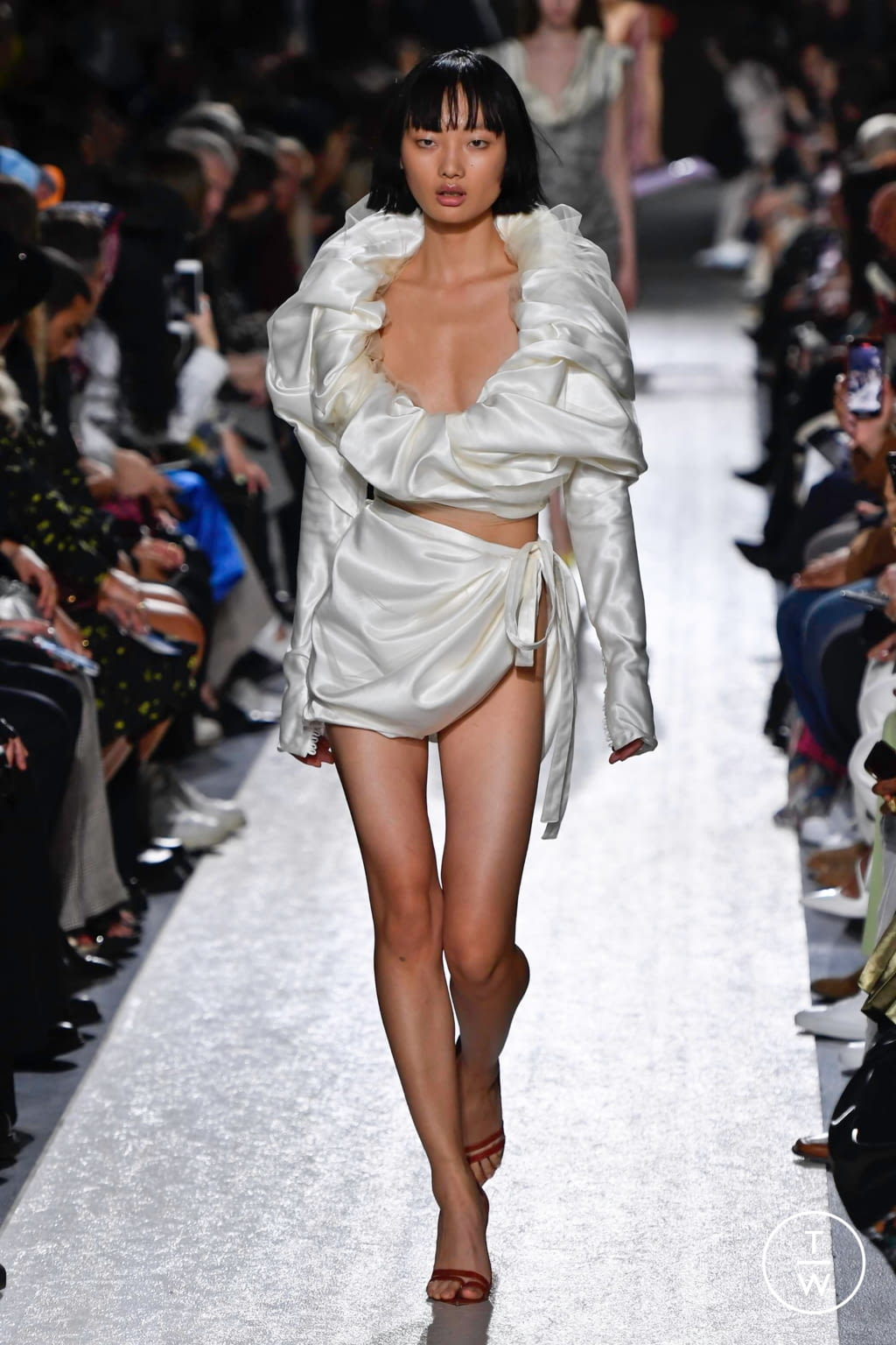 Fashion Week Paris Spring/Summer 2020 look 35 from the Y/PROJECT collection womenswear