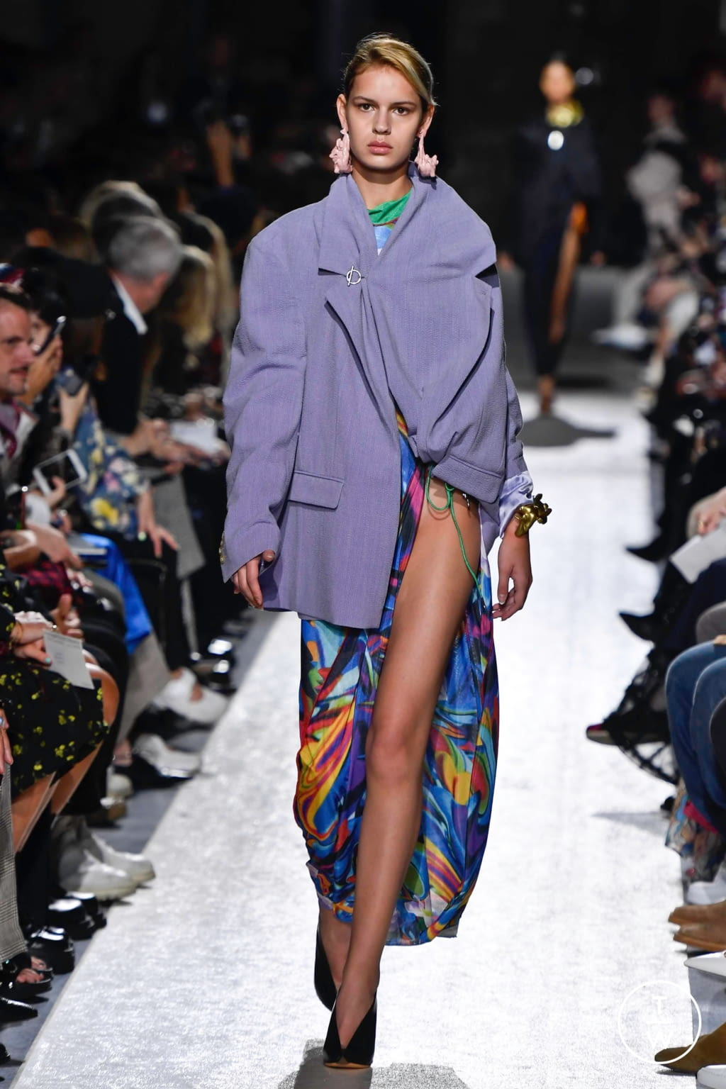 Fashion Week Paris Spring/Summer 2020 look 50 from the Y/PROJECT collection womenswear