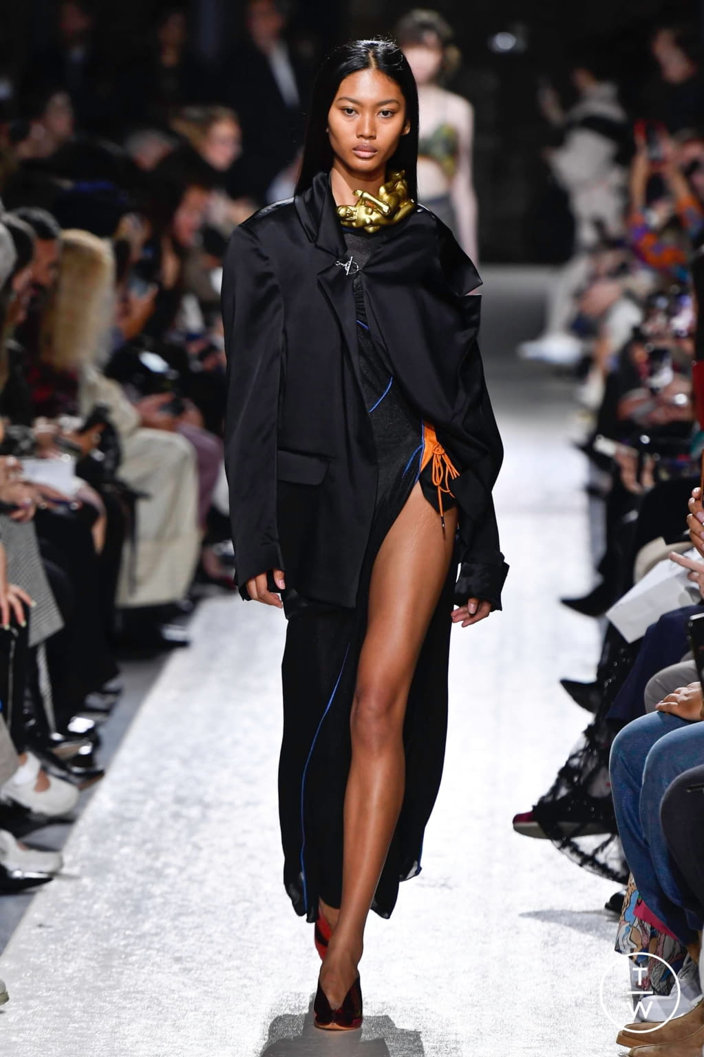 Fashion Week Paris Spring/Summer 2020 look 51 from the Y/PROJECT collection womenswear
