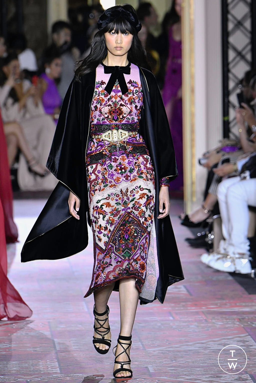 Fashion Week Paris Fall/Winter 2019 look 21 from the Zuhair Murad collection couture