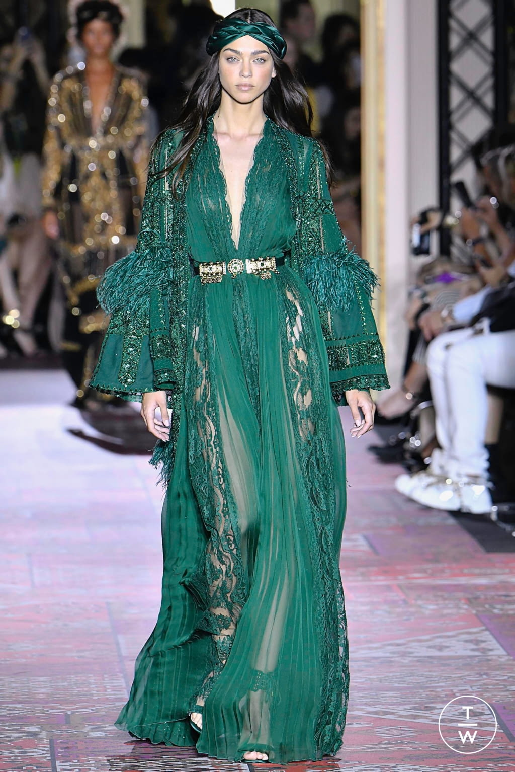 Fashion Week Paris Fall/Winter 2019 look 36 from the Zuhair Murad collection couture