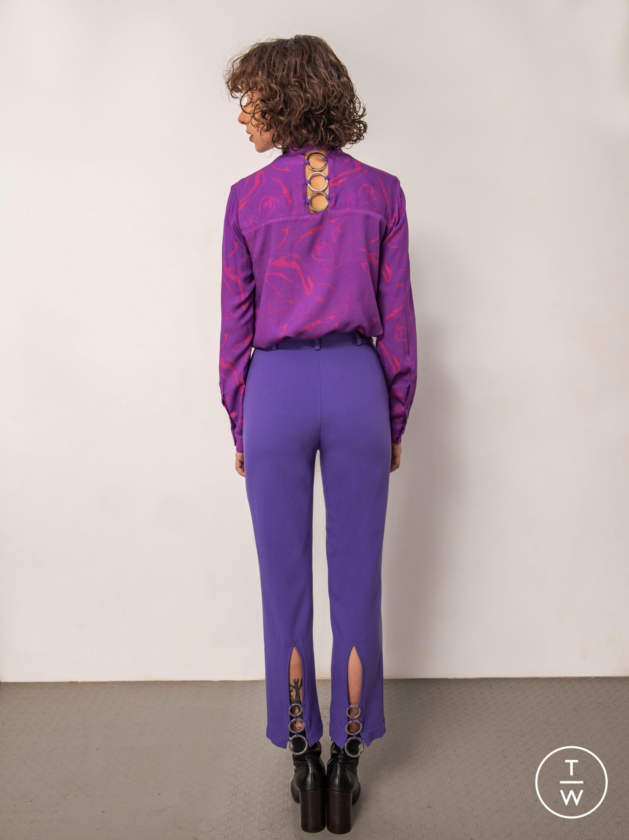 Delicato Colore Viola Pallido bogdar pf19 womenswear #20 - the fashion search engine - tagwalk